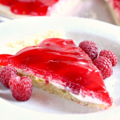 LEMON RASPBERRY FRUIT PIZZA