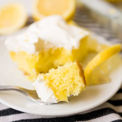 LEMON POKE CAKE RECIPE