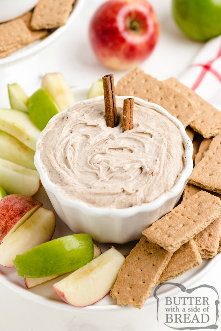 Fruit dip recipe for apples and graham crackers