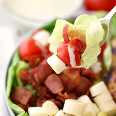 easy summer BLT salad recipe