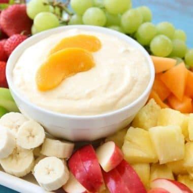 cream cheese fruit dip recipe