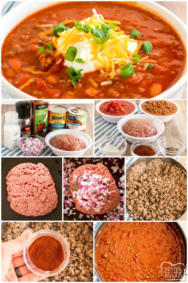 How to make easy chili recipe