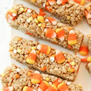 Fun halloween snacks made with candy corn