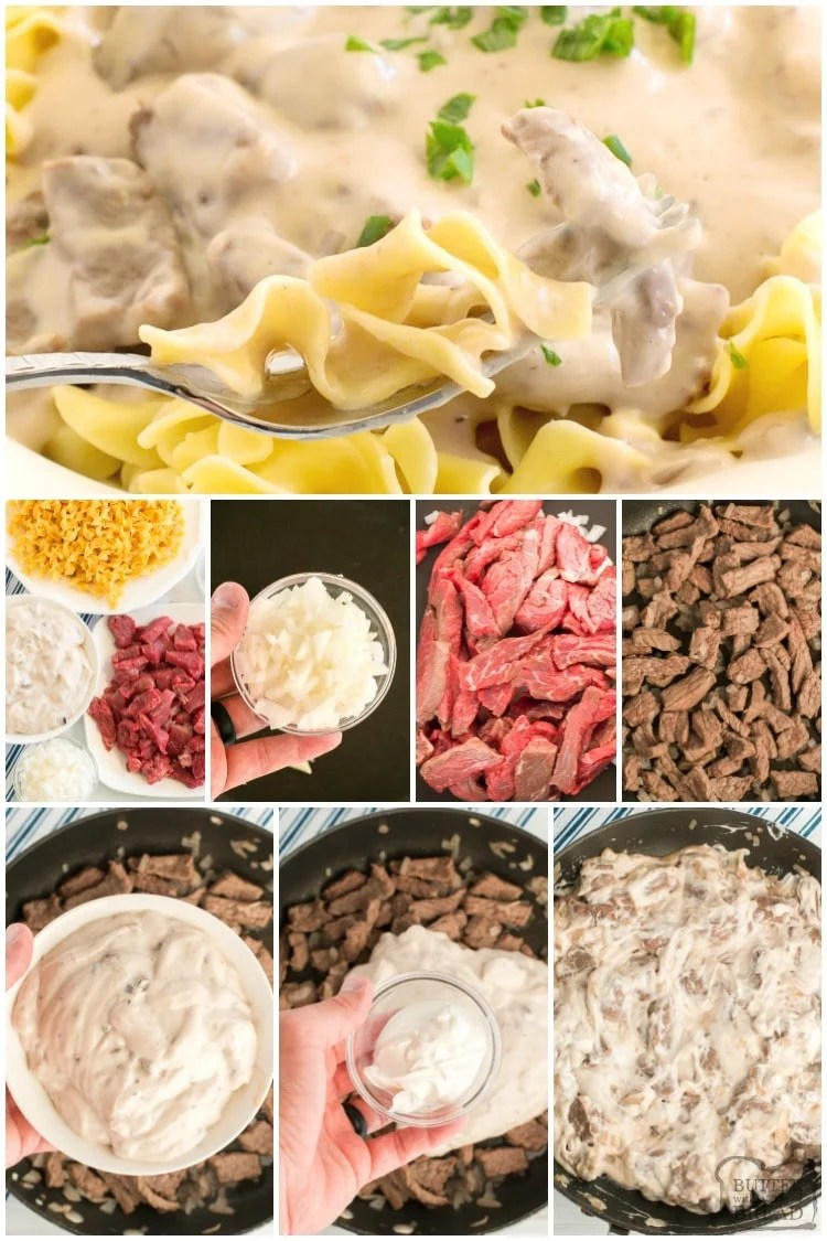 How to make Beef Stroganoff Recipe