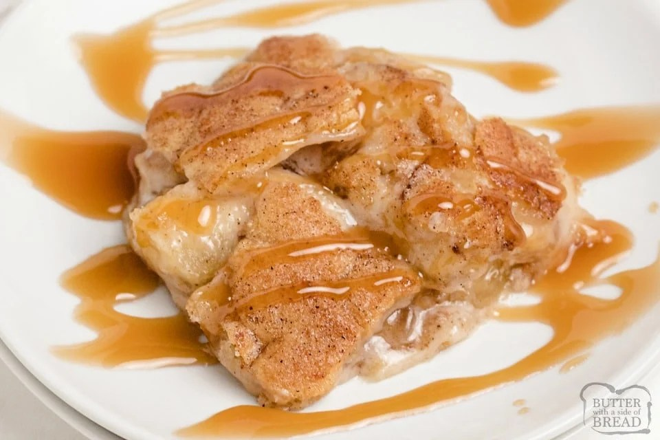 BEST Snickerdoodle Apple Cobbler