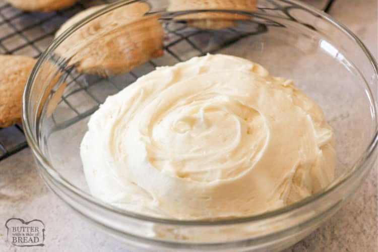 eggnog frosting recipe