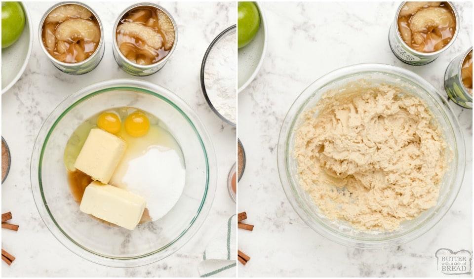 ingredients for Best Snickerdoodle Apple Cobbler recipe