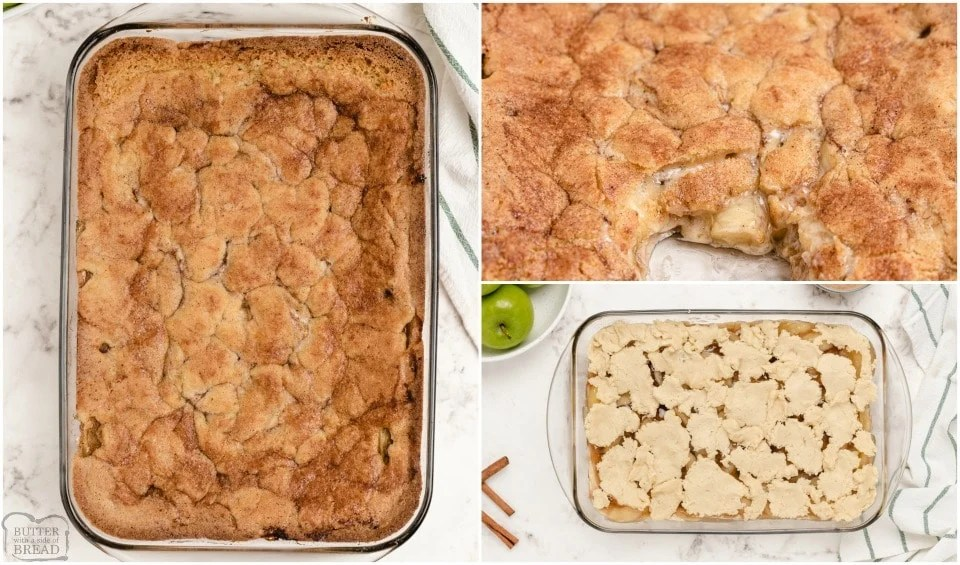How to make the BEST Snickerdoodle Apple Cobbler