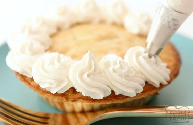 stabilized whipped cream with cream cheese