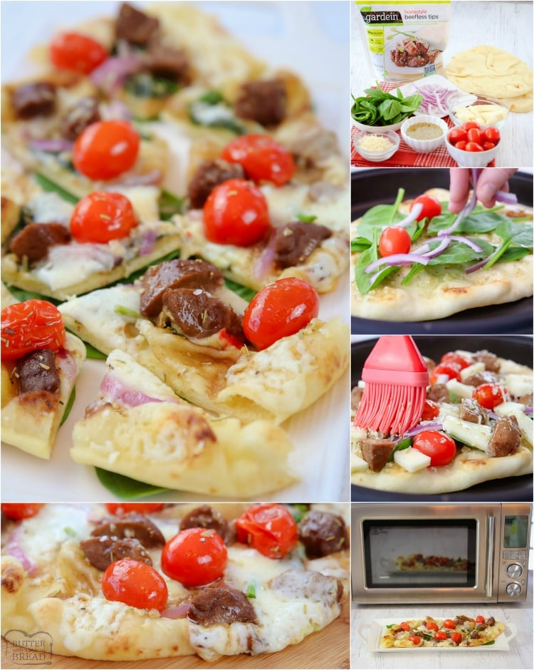 Steak and Cheese Flatbread