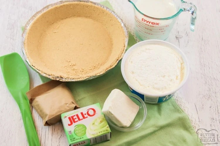 pistachio cream pie ingredients