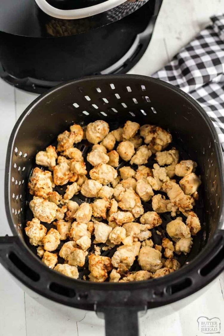 Easy homemade Orange Chicken recipe in the Air Fryer