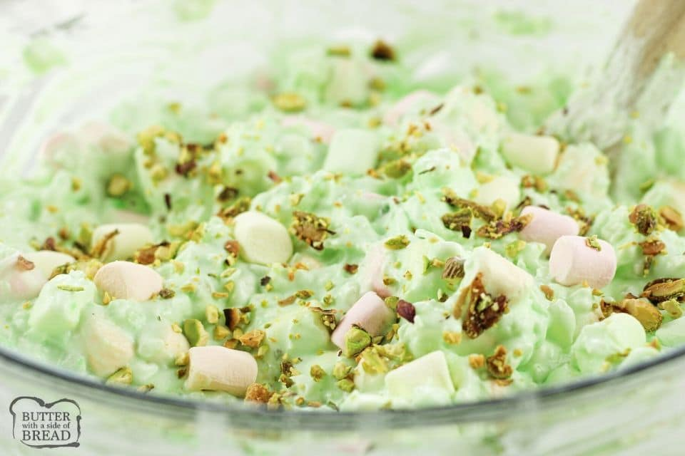 Easy 5 ingredient Pistachio Salad