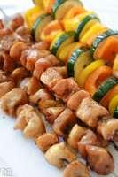Glazed Honey Chicken Kabobs recipe
