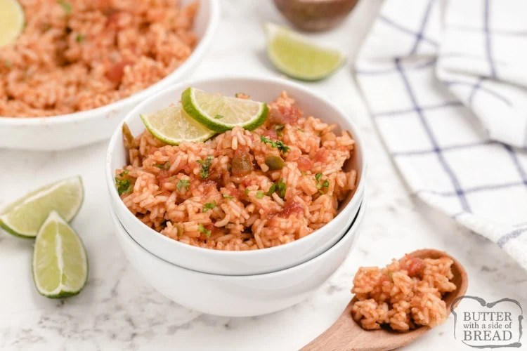Easy Mexican rice recipe