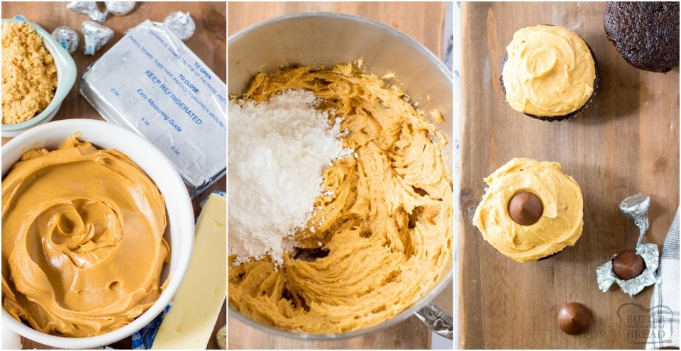 how to make Easy cream cheese peanut butter frosting recipe