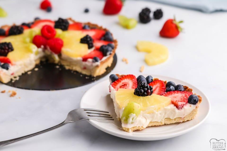 Easy Fruit Tart Recipe