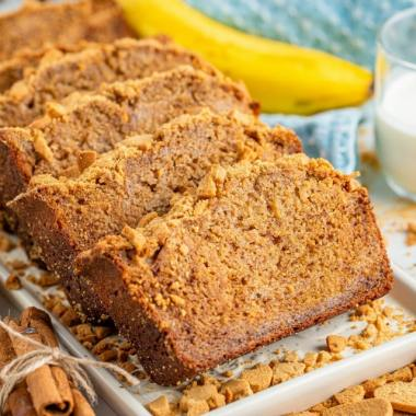 Easy Gingersnap Banana Bread recipe