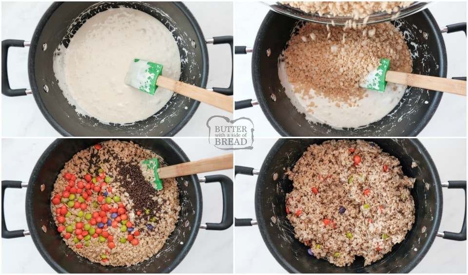 Easy Halloween Rice Krispie Treats recipe