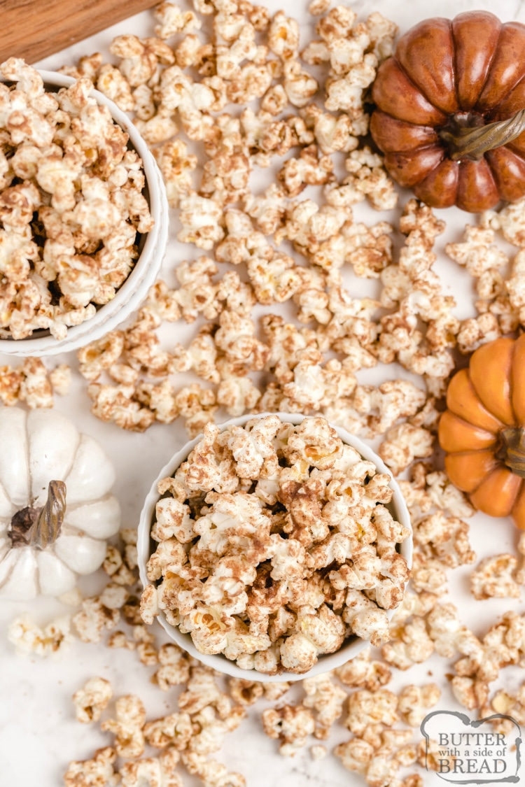 Spiced popcorn recipe
