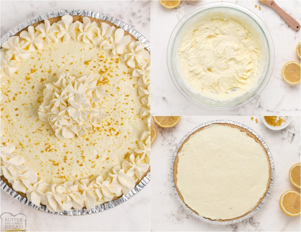 how to make Easy Lemon Chiffon Pie recipe