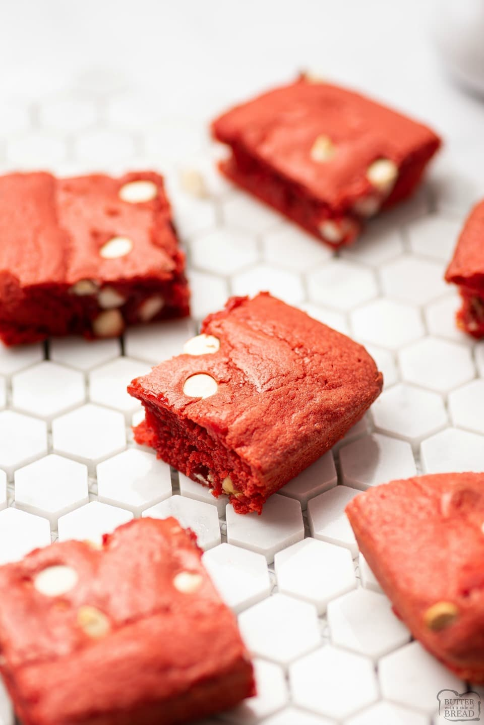Homemade Red Velvet Brownies recipe
