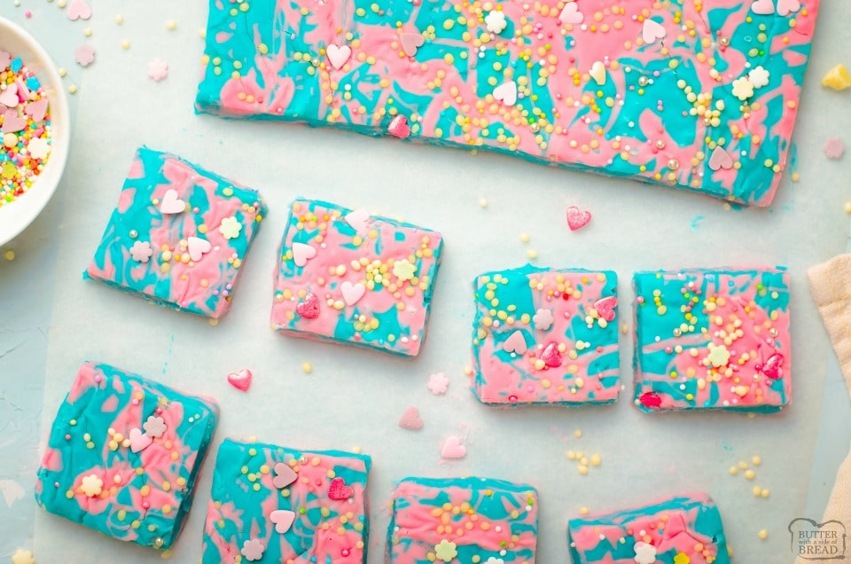 Cotton Candy Fudge Recipe