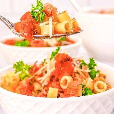 How to Make Pasta Fagioli recipe