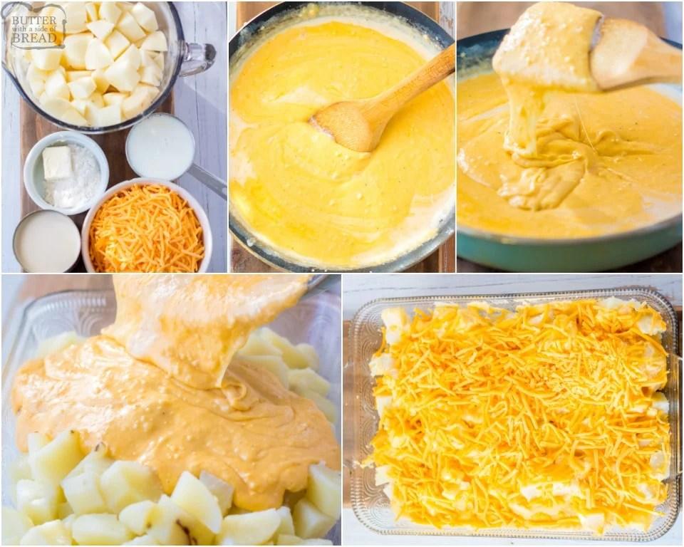 How to Make Homemade Cheesy Potatoes recipe