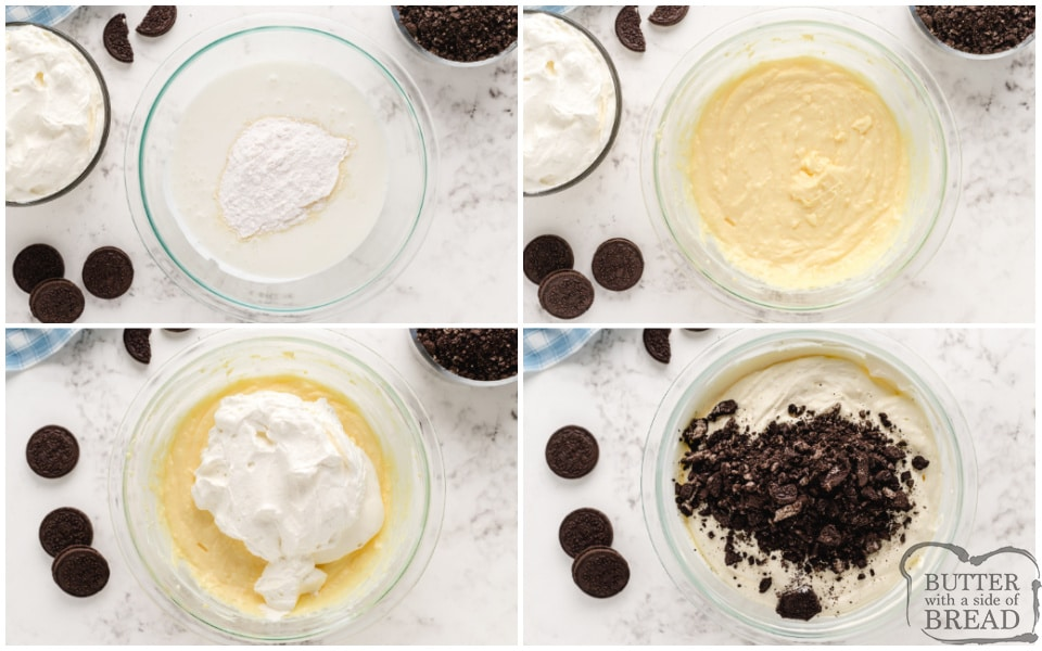 How to make Cookies and Cream Salad