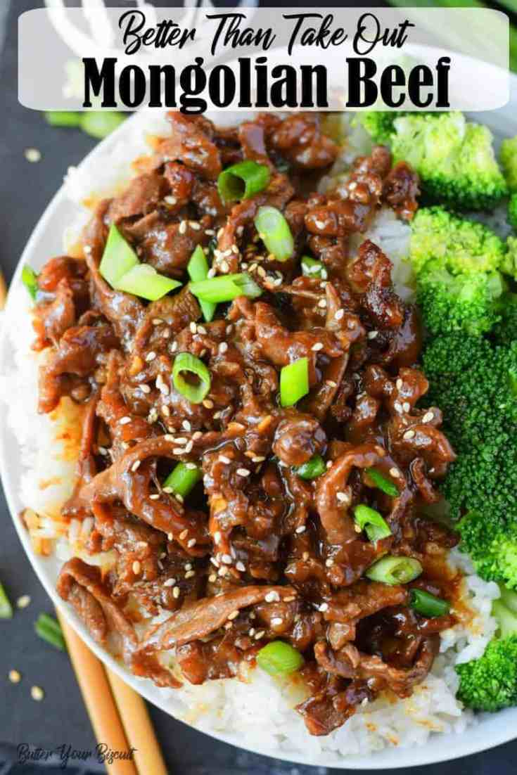 This Mongolian Beef is healthy, full of flavor and better than any take out.