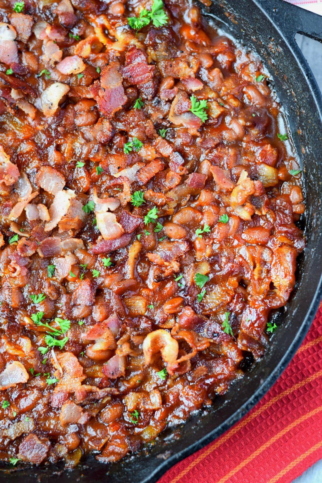 Sweet N Spicy Baked Beans Recipe Butter Your Biscuit