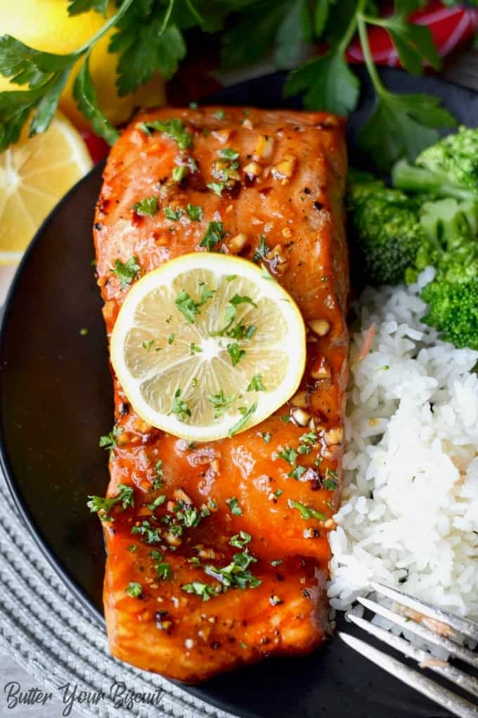 Cedar Plank Grilled Salmon Recipe Butter Your Biscuit