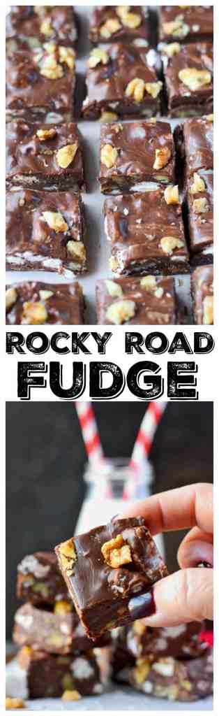 easy rocky road fudge LP
