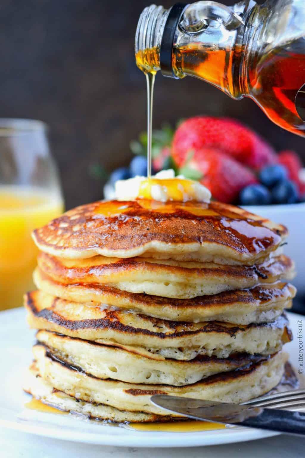 IHOP Copycat Pancakes Recipe-Butter Your Biscuit