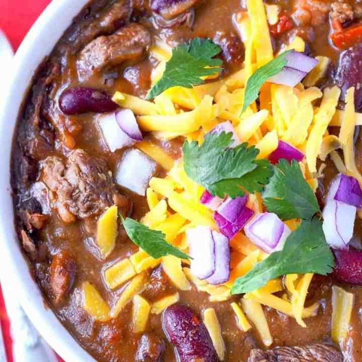 Ribeye Steak Chili
