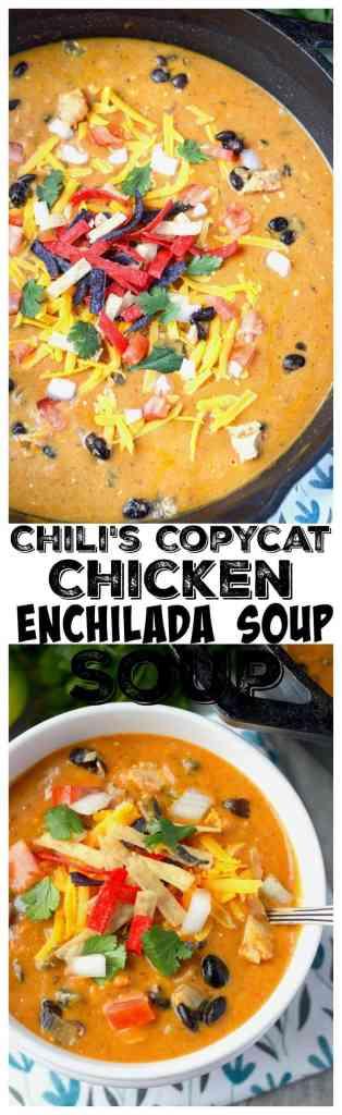 Chilis copycat chicken enchilada soup