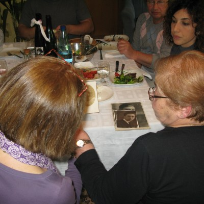 Meeting our Italian Relatives