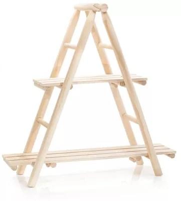 etagere echelle en bois 55 cm