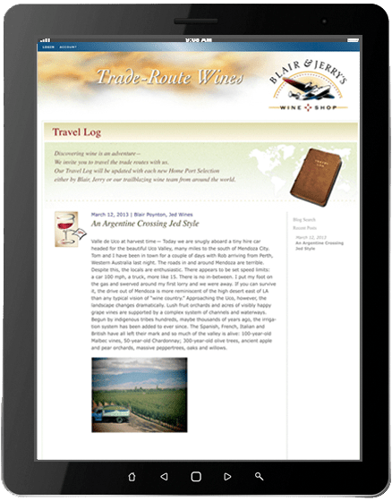 e-newsletters_Blair&Jerry's_travel_2