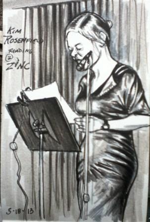 Kim reading
