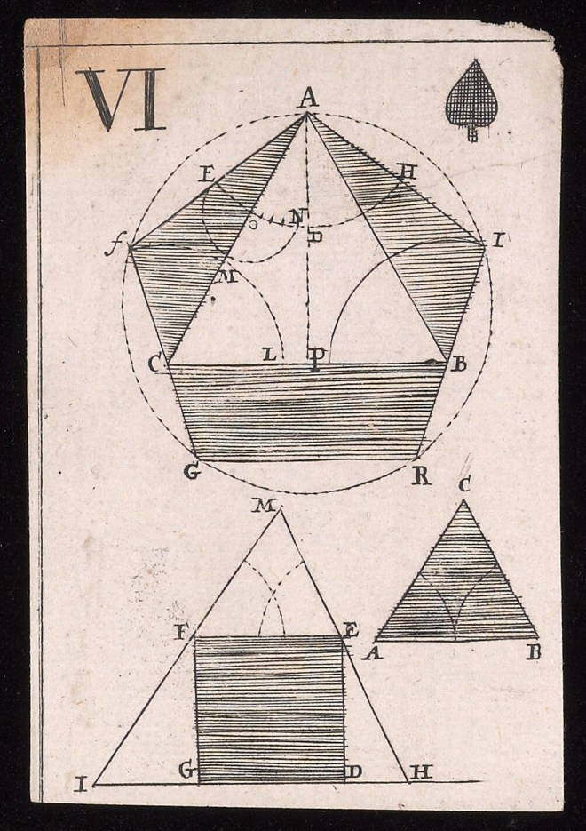 Image from a deck of cards by Rene Descartes