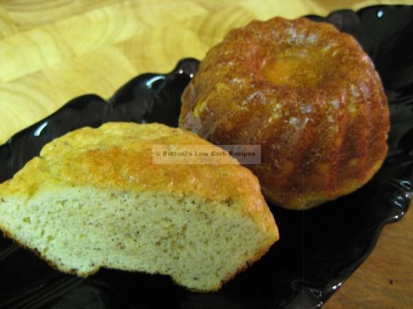 Individual Vanilla Cakes Buttoni' -carb Recipes