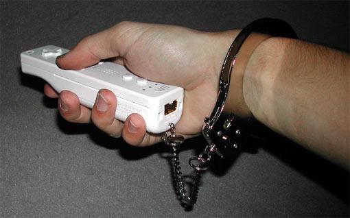 Wii cuffs