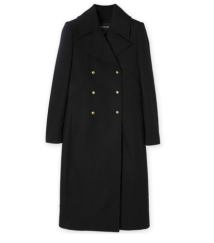 Military Button Coat from Woolworths