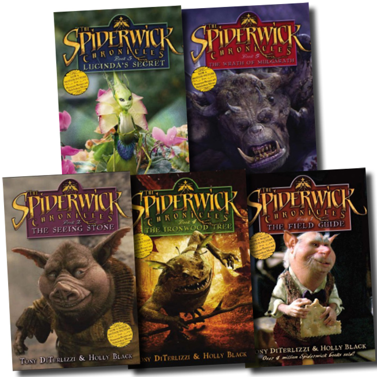 Field Spiderwick Guide Book Author Chronicles