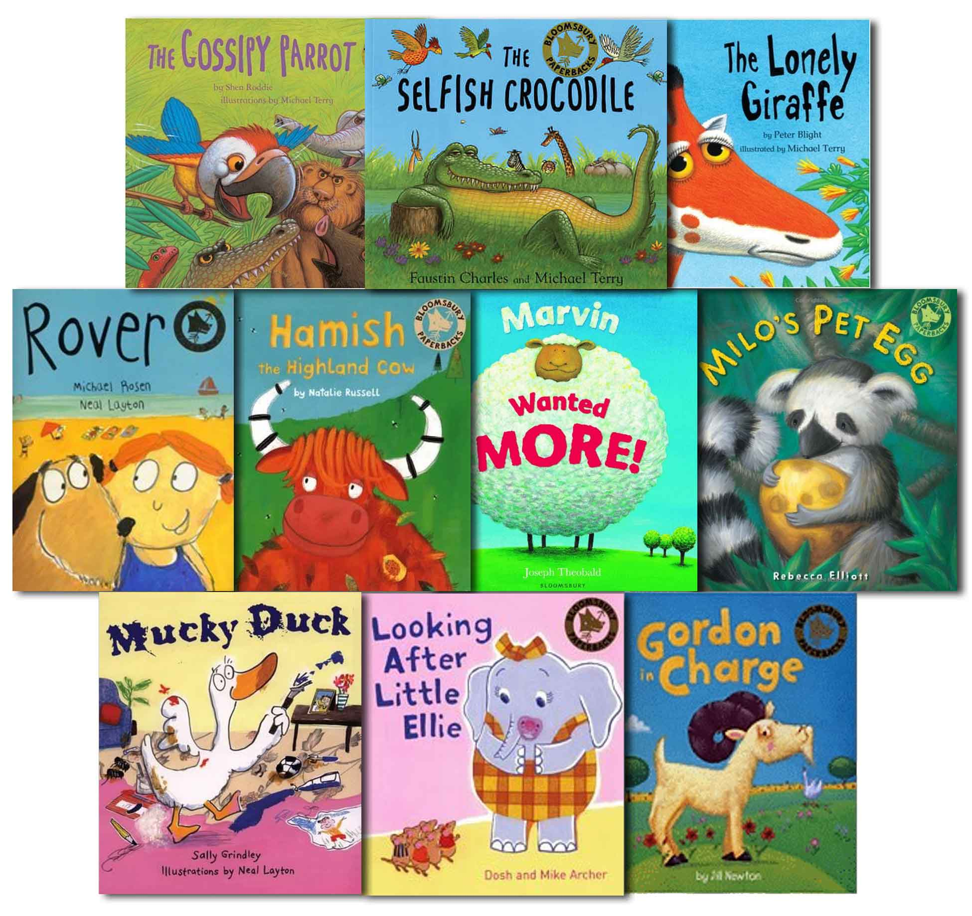 Childrens Bedtime Stories 10 Reading Books Collection Set