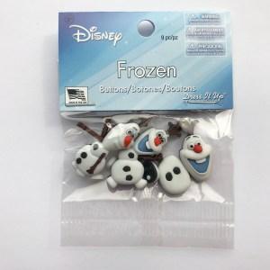 Olaf Buttons, Frozen, Disney