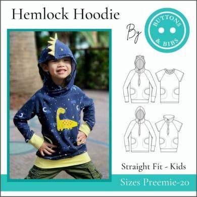 The Hemlock Hoodie for Kids- Straight Fit