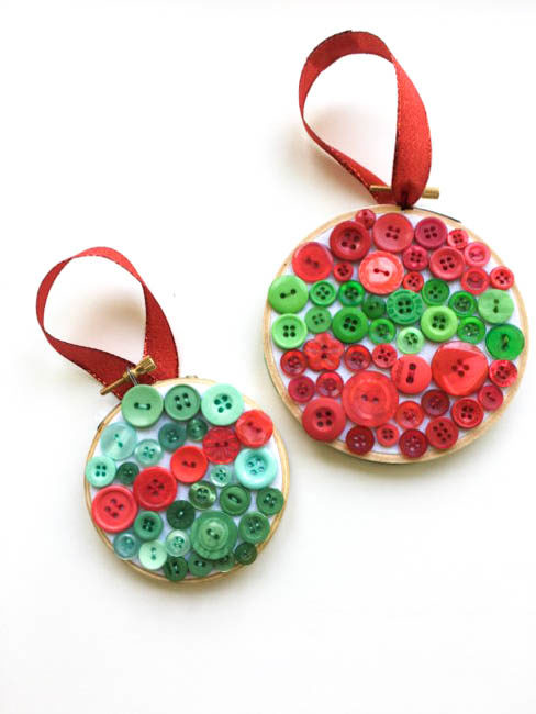 Christmas In July Easy Button Christmas Ornament